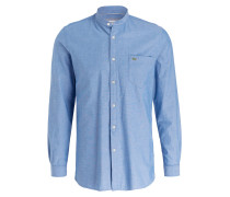 Oxford-Hemd Slim-Fit - hellblau
