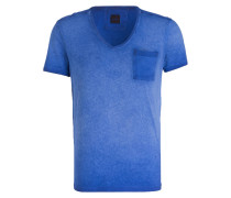 T-Shirt J-DEAN-V - blau
