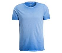 T-Shirt Level Five body fit - blau