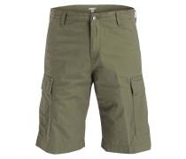 Cargo-Shorts - gelb