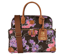 Beauty-Case LIFE - braun/ flieder/ rosa