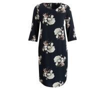 Kleid CARHEN - petrol/ weiss