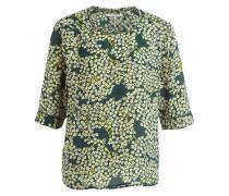 Blusenshirt - grün/ gelb