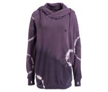 Oversized-Hoodie - violett