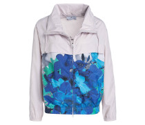 Trainingsjacke RUN BLOSSOM - natur/ blau