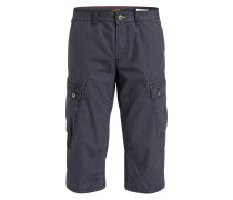 Cargo-Bermudas Straight-Fit - navy
