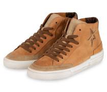 Hightop-Sneaker - CAMEL