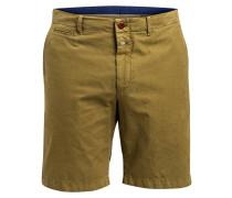 Chino-Shorts Regular-Fit - gelb