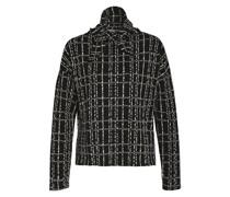 Sweatshirt mit abnehmbarem Kragenbesatz