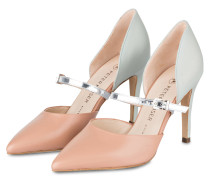 Pumps DAMORA - mint/ altrosa