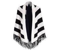 XL-Dreieckstuch aus Cashmere - schwarz