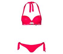 Push-up-Bikini - pink