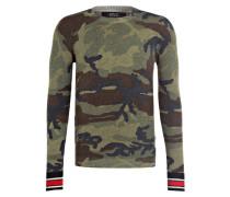 Pullover - grün/ blau/ navy
