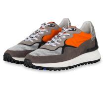 Sneaker - GRAU/ ORANGE/ WEISS