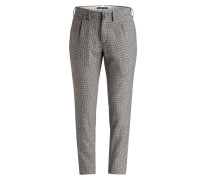 Wollhose Slim-Fit - grau