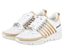 Sneaker 251 - weiss/ gold