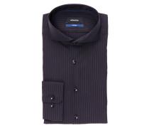 Hemd Tailored-Fit - schwarz/ navy