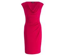 Kleid - neonpink