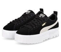 Plateau-Sneaker MAYZE - SCHWARZ/ CREME