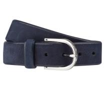 Ledergürtel - blau