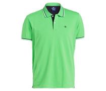 Piqué-Poloshirt Easy-Fit - grün
