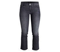 7/8-Jeans SELENA - black heath gray