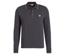 Piqué-Poloshirt - duneklgrau