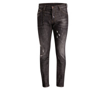Denim COOL GUY BLACK Slim-Fit - schwarz