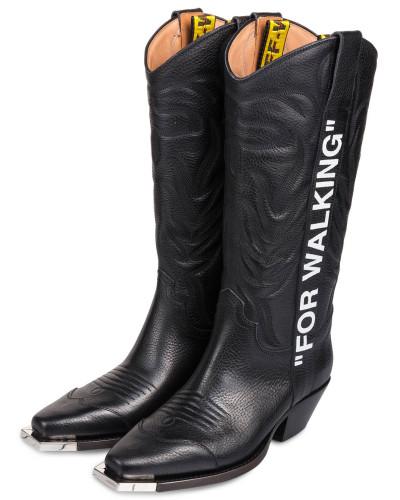 "Cowboy Boots ""FOR WALKING"" - SCHWARZ"