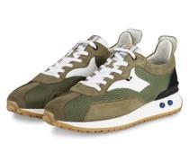 Sneaker - OLIV/ WEISS/ SCHWARZ