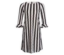 Kleid POETA - offwhite/ schwarz