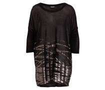 Shirt ALIZ - schwarz/ altgold
