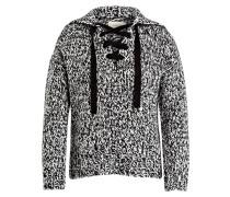 Pullover ANTIGO - creme/ schwarz