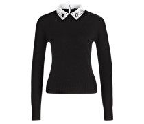Pullover MATIN - schwarz/ weiss