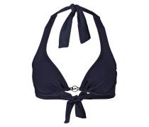 Neckholder-Bikini-Top - blau