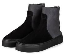 Plateau-Boots - DUNKELGRAU/ GRAU