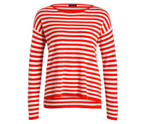 Cashmere-Pullover - rot
