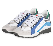 Sneaker 551 - weiss/ blau/ grau