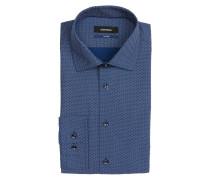 Hemd Tailored-Fit - dunkelblau/ weiss