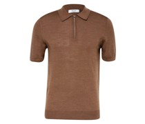 Strick-Poloshirt MAXWELL aus Merinowolle