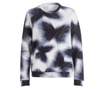 Sweatshirt TAFLY - weiss/ dunkelblau