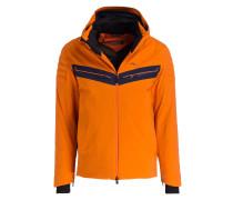 Skijacke CUCHE - orange/ marine