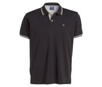 Piqué-Poloshirt Easy-Fit - dunkelgrau