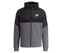 Sweatjacke ADVANCE 15 - schwarz/ grau