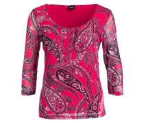 Shirt mit 3/4-Arm - pink/ hellrosa