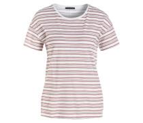 T-Shirt - kupfer/ beige gestreift