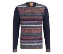 Pullover JACKY - marine/ violett/ hellblau