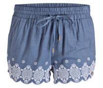 Shorts JENNA - blaugrau/ weiss