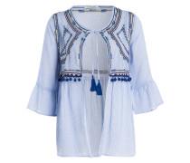 Blusenjacke - blau