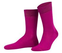 Socken BURGUND - pink